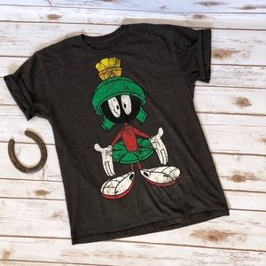 Tops - 💜LOONEY TOONS Marvin the Martian graphic tee